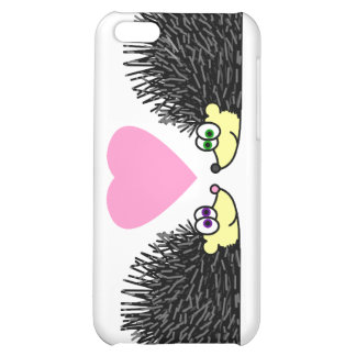 Cute Hedgehogs In Love iPhone 5C Cover