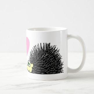 Cute Hedgehogs In Love Mug