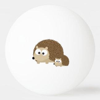 Cute Hedgehogs Ping-Pong Ball