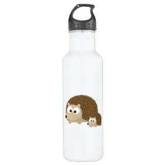 Cute Hedgehogs Stainless Steel Water Bottle