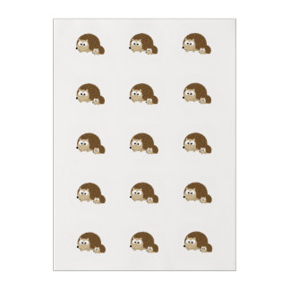 Cute Hedgehogs Edible Frosting Rounds