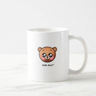 Cute Hello Bear Coffee Mug