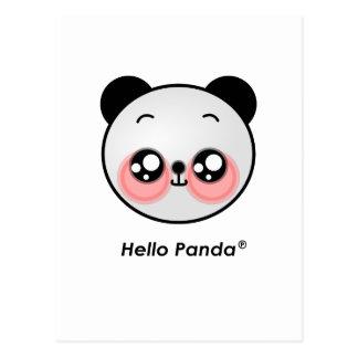 Cute Hello Panda Postcard
