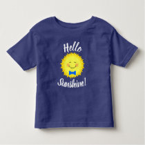 Cute Hello Sunshine Toddler T-shirt