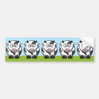 Cute Herd Bumper Sticker Car Bumper Sticker