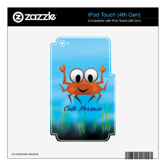 Cute Hermie,Multiple Products Selected iPod Touch 4G Decals