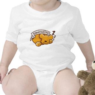 Cute Hibernating Bear with zzz 's Baby Creeper