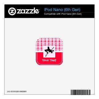 Cute High Jump Skin For iPod Nano