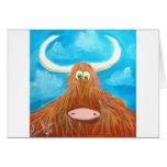CUTE HIGHLAND COW CARDS