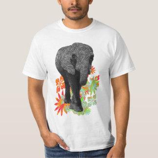 Cute Hippie Elephant T-Shirt