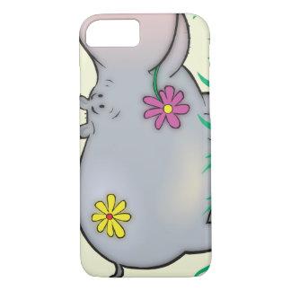 cute hippie hippo iPhone 7 case