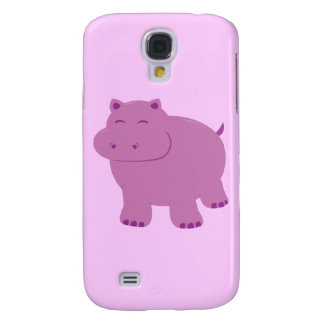 Cute Hippo Galaxy S4 Covers