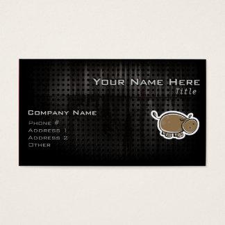Cute Hippo; Cool Business Card