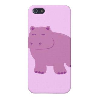 Cute Hippo iPhone 5 Case