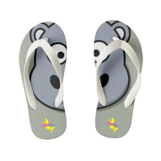 Cute Hippo Kid's Flip Flops