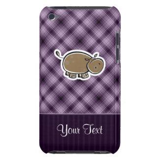 Cute Hippo; Purple Case-Mate iPod Touch Case