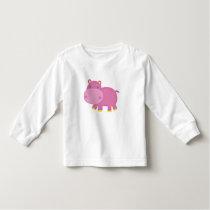 Cute Hippo Toddler T-shirt
