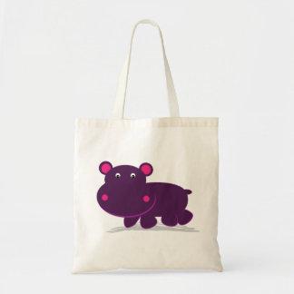 Cute Hippo Tote Bag