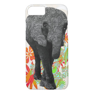 Cute Hippy Elephant iPhone 8/7 Case