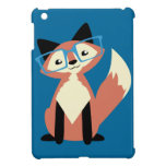 Cute Hipster Glasses Fox Cover For The iPad Mini