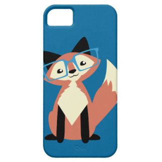 Cute Hipster Glasses Fox iPhone SE/5/5s Case