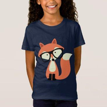 heartlocked Cute Hipster Red Fox T-Shirt