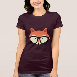 Cute Hipster Red Fox Tshirt