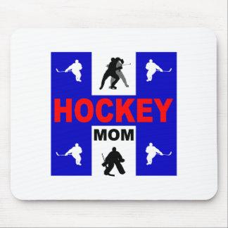 Cute hockey mouse pad