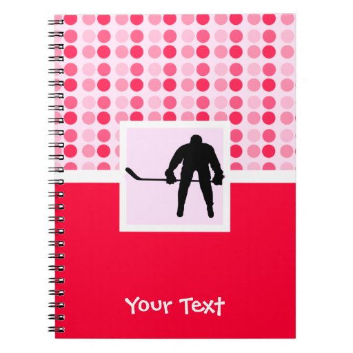 Cute Hockey Note Book