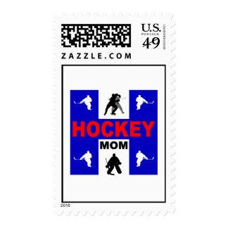 Cute hockey postage