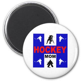 Cute hockey refrigerator magnet