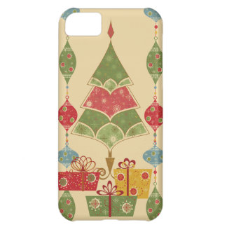 Cute Holiday Christmas Tree Ornaments Presents iPhone 5C Cover