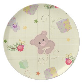 Cute Holiday Party Plates