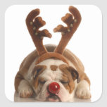 Cute Holiday Puppy Stickers