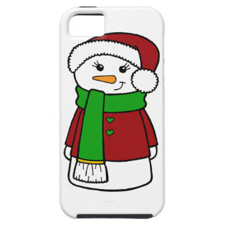 Cute Holiday Snowman iPhone SE/5/5s Case