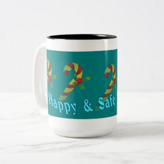 Cute Holiday Wishes large Mug