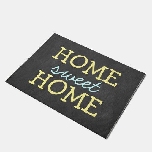 Cute Home Sweet Home Door Mat Zazzle