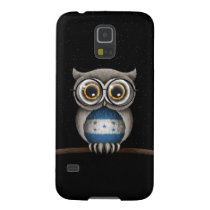 Cute Honduran Flag Owl Wearing Glasses Galaxy S5 Case