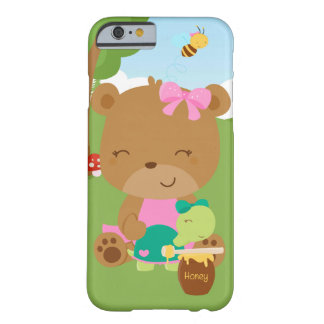 Cute honey bear barely there iPhone 6 case