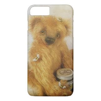 Cute Honey Bear Teddy Illustration iPhone 7 Plus Case