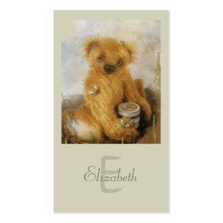 Cute Honey Bear Teddy Personalized Business Card