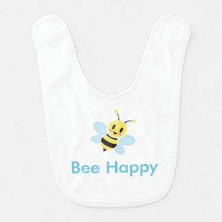 Cute Honey Bee Baby Bib