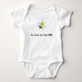Cute Honey Bee Baby Bodysuit