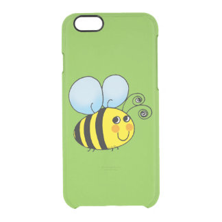 cute honey bumble bee clear iPhone 6/6S case