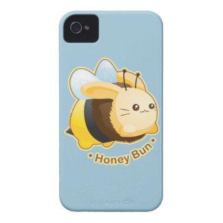 Cute Honey Bun Bunny iPhone 4 Case