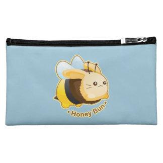 Cute Honey Bun Bunny Makeup Bag