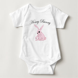 Cute Honey Bunny Design by Leslie Harlow Tee Shirt