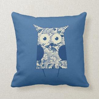 Cute hoot Vintage Owl Pillow