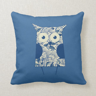 Cute hoot Vintage Owl Throw Pillow