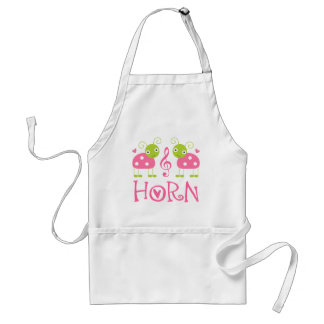 CUTE HORN LADYBUGS PINK ADULT APRON